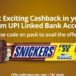 paytm snickers