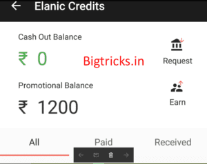Elanic 2nd Birthday: - Rs.100 Promotional balance (100% use)+Rs.100 on Signup + Rs.100 Per referral 1