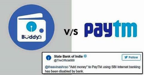 SBI Disabled Add Money To Paytm And Other Online Wallets 1