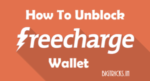 freecharge logo min 300x163 - How To Unblock Blocked Freecharge Account : Complete Process