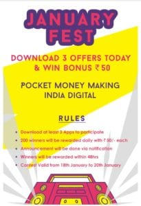 Pocket Money App - Earn Unlimited Paytm Cash | Guranteed Rs. 30 Monthly 3