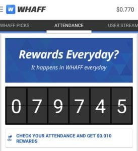 IMG 20170129 194430 274x300 - (Loot)(Proof) Whaff App Loot : Rs.30 or $0.400 on Sign Up & Rs.20 or $0.300 Per Refer |Redeem as Flipkart,Freecharge,Paypal