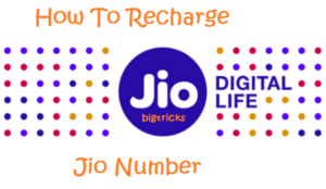 Guide: How To Recharge Jio Number [App And Website] 1