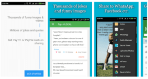 Screenshot 32 300x161 - mFunny App Refer And Earn : Get Rs.3 On Signup + Rs.2   Per Refer( Paytm Cash)