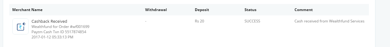 (Live again-proof ) Wealthfund Offer loot – Register and Get Rs 20 Paytm Cash and Refer to earn upto Rs.1500(Proof Added)+Free Movie tickets 2