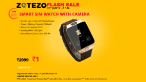 popupdesk 300x169 - Get Smartwatch Worth Rs 2999 At Re 1 - Zotezo Flash Sale