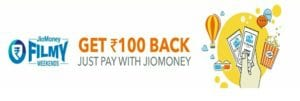 Jio Money Book My Show Offer : Book One Movie Ticket for Free 1