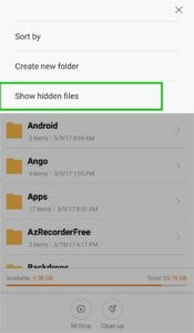 How To Hide Files, Folders from Android without any App 4