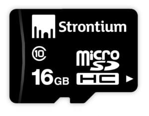 Amazon Deal: Strontium 16GB MicroSD Memory Card (Class 10) at Rs.369 (MRP=499 Rs.) 1