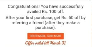 {Proof Added} SaleBhai Loot Offer : Get Rs.100 on Sign Up and Rs.50 Per Refer 4