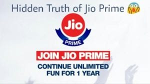 Must Read this before Buying Jio Prime Membership | Hidden Truth 1