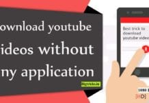 Download Youtube video without any application
