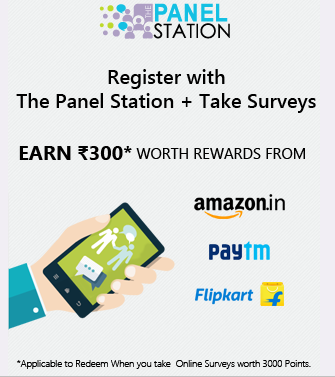 [New Survey] The Panel Station Loot : Get Rs. 300 Paytm Cash By Completing Surveys 1