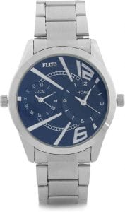 Flipkart loot:-Fluid Wrist Watches with Heavy Discount at Rs. 449 ( Price = 5,999) 1