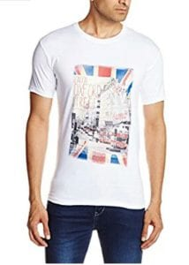 Amazon- Buy 1 Get 1 Free on Men T-shirts Starting At Rs 179 1