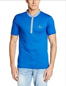 Amazon- Buy 1 Get 1 Free on Men T-shirts Starting At Rs 179 2