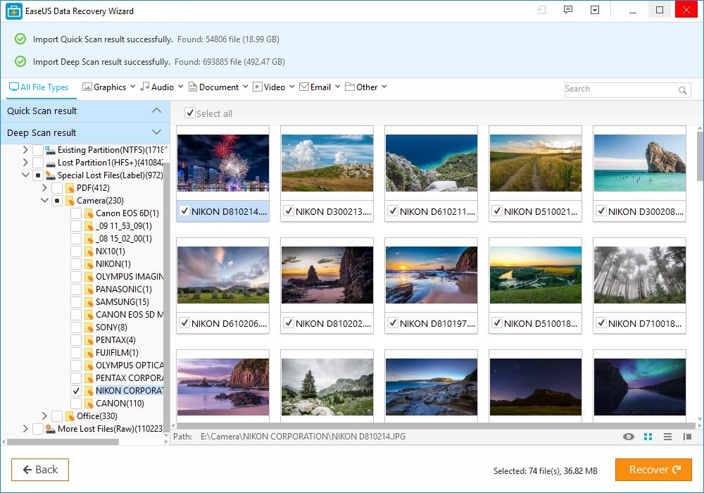 EaseUS Recovery Wizard Review : Just Three Steps to Recover Deleted Files 4