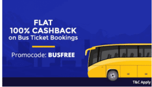 Paytm Bus ticket loot:- Free Bus Ticket Booking upto Rs.125 1