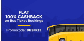 Paytm Bus ticket loot:- Free Bus Ticket Booking upto Rs.125