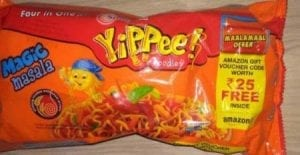 Yippee Noodles pack