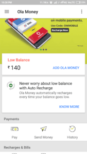 (over)Ola: Trick To Get Rs.140 For Free (Bank transferable) 1