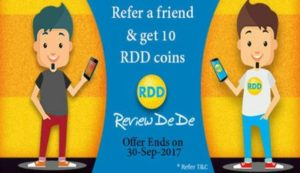 Review DeDe App: Refer And Get Rs.10 Paytm Cash For Each Invite 1
