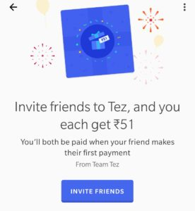 WhatsApp Image 2017 09 18 at 9.53.32 AM 276x300 - Google Tez Loot : Get Rs.51 On Signup + Rs.51 For Each Invite (Bank Cash)