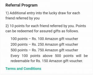 (over)MedRecordz App Loot : Refer Friends And Get Amazon voucher/Paytm cash( 10 Point Per Refer) 1