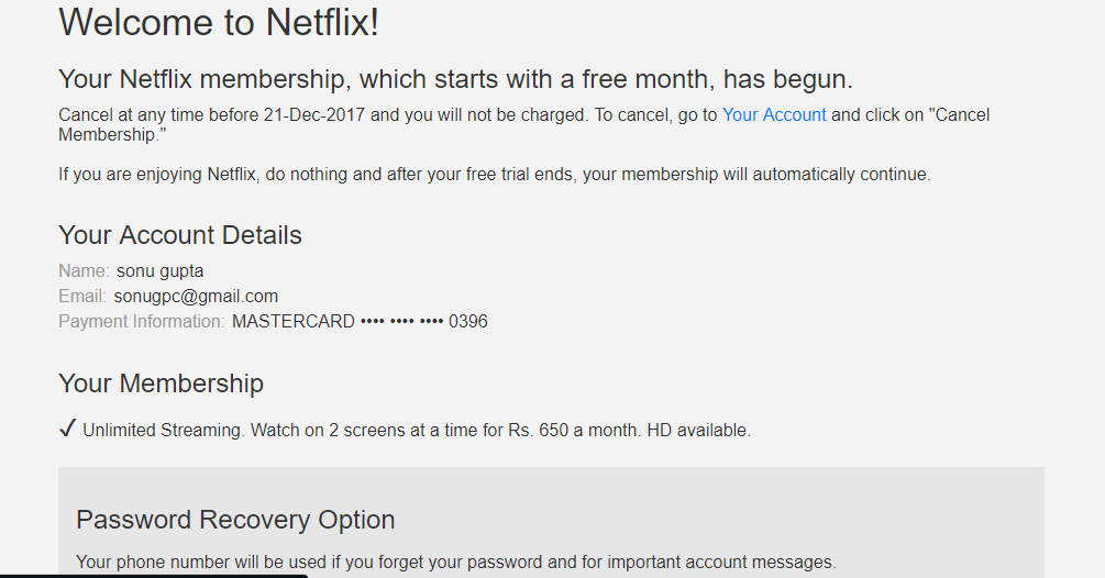 Trick to Get Netflix Premium Account For Free for Lifetime (Netflix