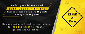 (tshirt proof)Nikon School : Signup and get 50 Points+Refer Friends and get 25 Points for Each 1