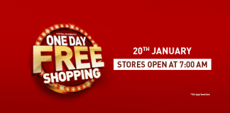 [20 January 2018]Central Free Shopping: Shop For Rs.8000 and pay Rs.4000+Rs.4000 Cashback