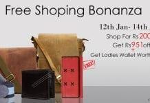 Hidekraft Free Shopping Bonanza