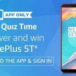 Amazon oneplus 5t quz answers