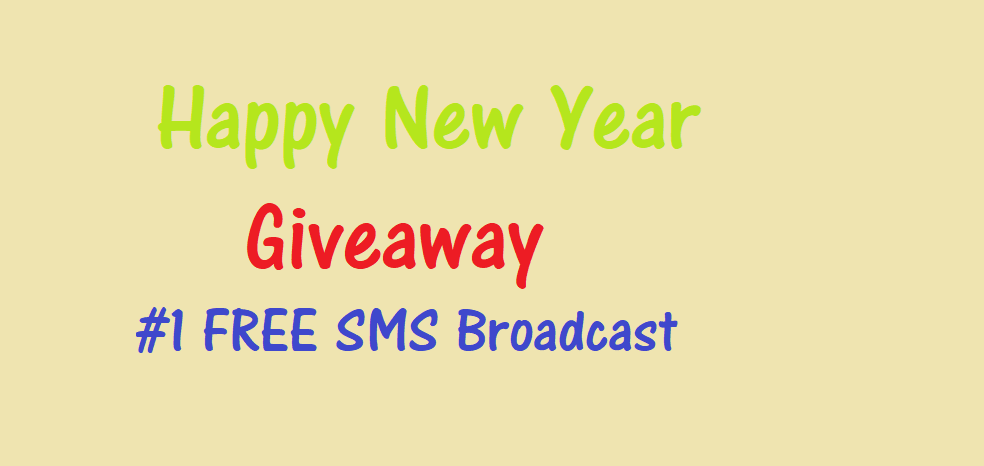HNY Giveaway : Get Bigtricks SMS Broadcast Subscription for Free 1