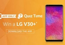 Amazon Lg v30+ QuiZ