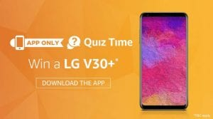 Amazon Quiz Contest