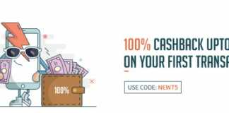 Freecharge – Get 100% Cashback Upto Rs 75 On First Transaction