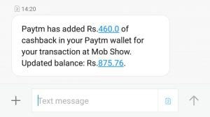 [Quiz Time] MobShow App - Get Rs.10 Paytm Cash on Signup+Rs.10 Paytm Cash For Each Referral 2