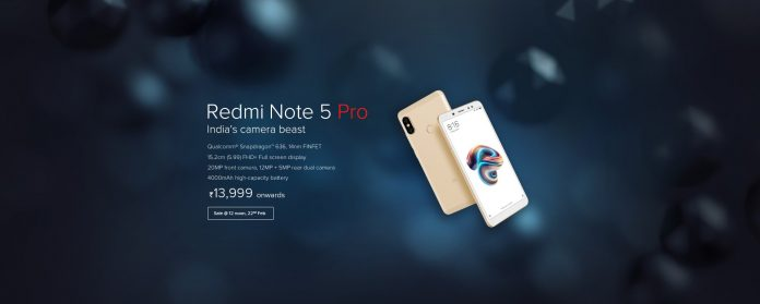 redmi note 5 pro 696x279 1 - [in Stock] Script to Buy Redmi Note 5 & Note 5 Pro From Flipkart Flash Sale