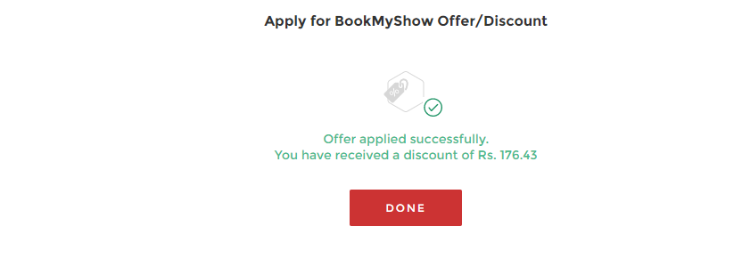(Proof)BookmyShow Loot: Get 3 StoreysMovie Ticket For Free 2