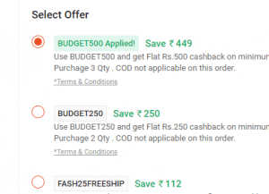 Screenshot 99 300x217 - PaytmMall Loot: Get Rs.500 Cashback on Shopping of 3 Quantities (All Users)