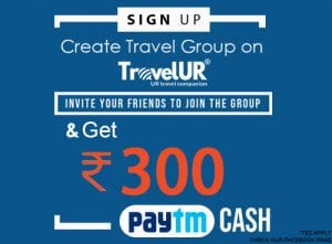 Travelur.com: Refer 5 Friends to Join Group And Get Rs.300 Paytm Cash For Free 1