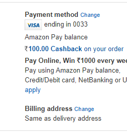 [Loot] Amazon Loot: Get 100% Cashback Upto Rs.300 On Your First Pantry order 2