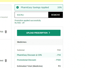 Screenshot 49 300x236 - [Over] Pharmeasy Offer: Get Medicines Worth Rs.125 Absolutely Free