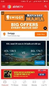Stream All  IPL LIVE Match For Free on Hotstar & Airtel Live TV 2