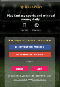 HalaPlay Fantasy League