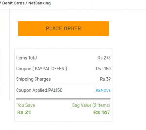 Voonik Loot : Get Rs.150 off On order of Rs.150 or More 2