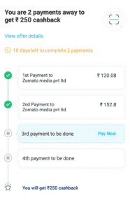 (User Specific)Paytm Zomato Trick : Get Food Worth Rs.800 for Only at Rs.150 (After cashback) 3