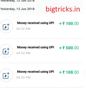(Rs.700 Proof)BHIM ABPB : Refer 5 Friends & Get Rs.100 3