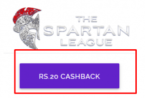Cashbig Spartan League Offer - Join any League Of Rs.5 or More & Get Rs.20 Paytm Cash Instantly 2